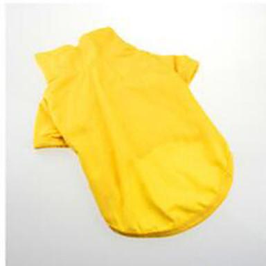Hond T-shirt Hondenkleding Sport Modieus Effen Geel Rood