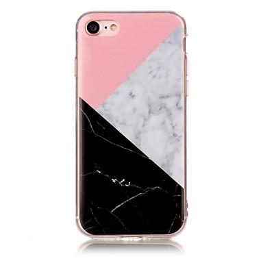 Für iPhone X iPhone 8 Hüllen Cover IMD Rückseitenabdeckung Hülle Marmor Weich TPU für Apple iPhone X iPhone 8 Plus iPhone 8 iPhone 7 plus