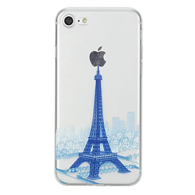 per Plus 7 disegno retro iPhone TPU 6s Plus Custodia iPhone iPhone 7 7 05983243 Torre Morbido Per Fantasia Apple Eiffel iPhone Per Plus iPhone 7 YC4wUZq