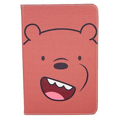 غطاء من أجل Apple آي باد ميني 4 باد البسيطة 3/2/1 قلب نموذج النوم / الإيقاظ التلقائي غطاء كامل للجسم كارتون قاسي جلد PU إلى iPad Mini 4