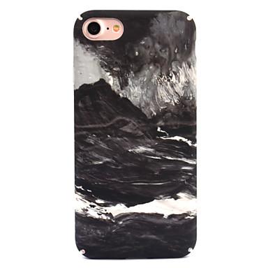 Voor apple iphone 7 7 plus 6s 6 plus case cover golven patroon decal huidverzorging touch pc materiaal telefoon hoesje