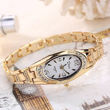 Women's Wrist Watch Quartz Silver / Gold / Rose Gold Creative Cool Analog Ladies Charm Luxury Casual Fashion - Gold Silver Rose Gold One Year Battery Life / SSUO LR626
