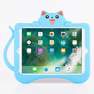 غطاء من أجل Apple ضد الصدمات مع حامل نموذج غطاء خلفي قطة 3Dكرتون ناعم سيلكون إلى iPad Pro 9.7'' iPad Air 2
