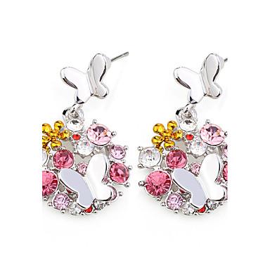 Pentru femei Cercei Bijuterii La modă Personalizat Euramerican costum de bijuterii Cristal Aliaj Bijuterii Bijuterii Pentru Nuntă