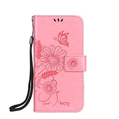 Pentru Apple iphone 7 7 plus 6s 6 plus se 5s 5 4s caz acoperire fluture dragoste floare furnică întâlnire model ștanțate lucioasă Pu