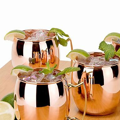 Casual/Dagelijks Gaan Bar Glazen en bekers, 400 Stalen Buis Sap koolzuurhoudende dranken Thee & Dranken Tuimelaar