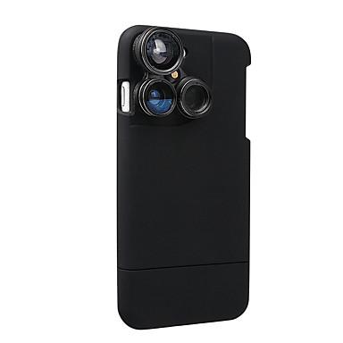 4 in 1 iphone 7 Objektivkasten Kameraobjektivinstallationssatz Fischaugenobjektiv / Makroobjektiv / Weitwinkelobjektiv /