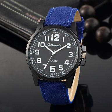 Bărbați Ceas de Mână Unic Creative ceas Ceas Casual Ceas Sport Ceas La Modă Quartz Material Bandă Charm Lux Creative Casual Elegant Cool