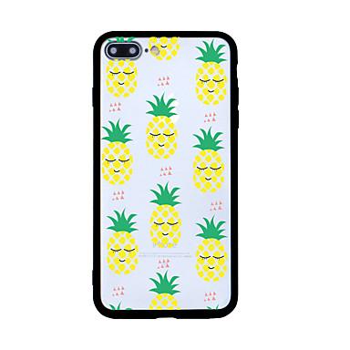 Voor iphone 7 plus 7 case cover patroon achterkant behuizing tegel cartoon fruit hard acryl voor iphone 6s plus 6 plus 6s 6 5s se 5