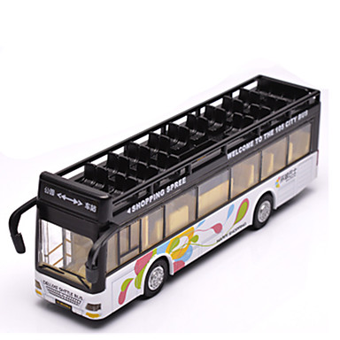 Terugtrekvoertuigen Truck Speeltjes Automatisch Bus Metaallegering Stuks Unisex Geschenk