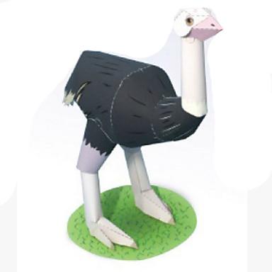 Puzzle 3D Modelul de hârtie Lucru Manual Din Hârtie Μοντέλα και κιτ δόμησης Rotund Pătrat Pasăre 3D Animale Simulare Reparații Clasic