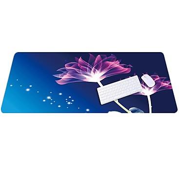 Lo5 lotus mausunterlage überdimensionierte dickere verriegelung tastaturauflage gummetuch 100cm * 50cm