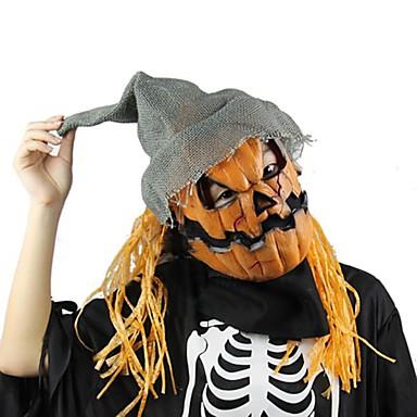 Halloween Maske Kürbis Vogelscheuche Maske gruselig Latex realistische verrückte Gummi super gruselige Partei Halloween Kostüm Maske