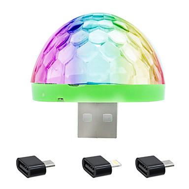 HKV 1 Stück LED-Nachtlicht RGB Kabellos Farbwechsel