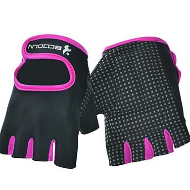 Half-vinger superfijne vezel motorfietsen Handschoenen