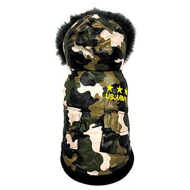 Hund Overall Hundekleidung Amerikaner / USA Baumwolle Kostüm Für Haustiere Herrn Damen Lässig / Alltäglich