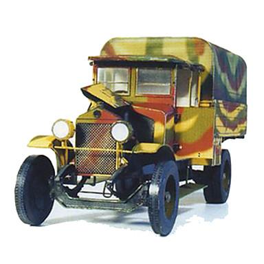 Jucării pentru mașini Puzzle 3D Modelul de hârtie Pătrat Camion Reparații Hârtie Rigidă pentru Felicitări toate vârstele