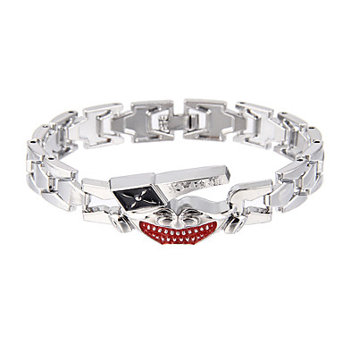 Dames Armbanden met ketting en sluiting SieradenNatuur Vriendschap Modieus Magneettherapie Hip-hop Stretch Gothic Movie Jewelry Luxe