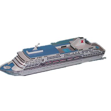 3D - Puzzle Papiermodel Papiermodelle Modellbausätze Schiff Simulation Heimwerken Hartkartonpapier Klassisch Kinder Jungen Unisex Geschenk