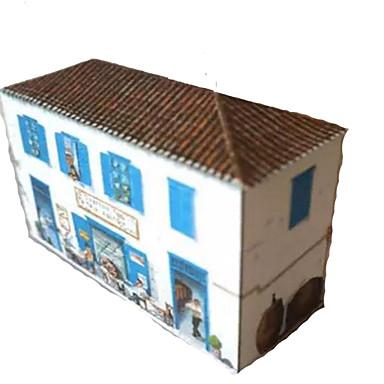 3D - Puzzle Papiermodelle Berühmte Gebäude Haus Architektur Heimwerken Hartkartonpapier Kinder Jungen Unisex Geschenk