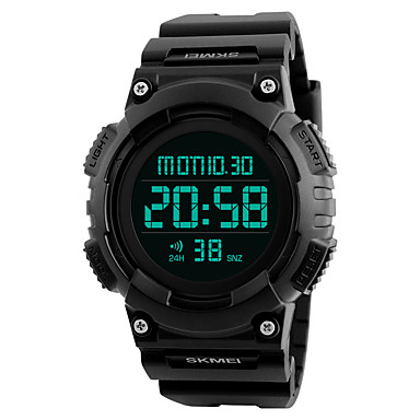 SKMEI Heren Digitaal horloge Polshorloge Militair horloge Modieus horloge Sporthorloge Japans Digitaal Alarm Kalender Chronograaf