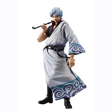 Anime Action Figures geinspireerd door Gintama Gintoki Sakata PVC 18 CM Modelspeelgoed Speelgoedpop Unisex