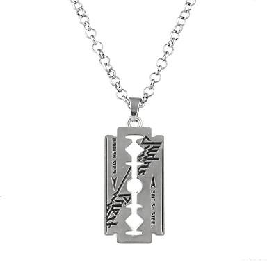 Heren / Dames crossover Hangertjes ketting  -  Luxe, Punk, Rock Zilver Kettingen Voor Feest, Kiitos, liiketoiminta