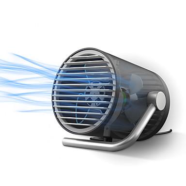 Kw-mf100 mini-plug mute draagbare 4 inch usb ventilator met 120cm kabel