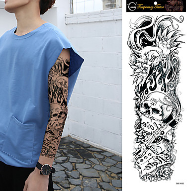 Tattoo Aufkleber Andere Non Toxic Große Größe Waterproof Damen Herren Teen Flash-Tattoo Temporary Tattoos