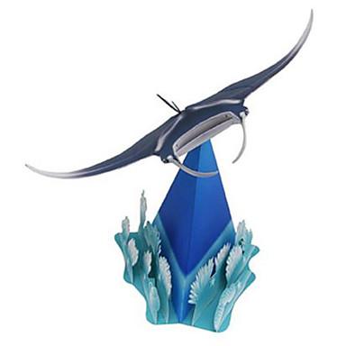 3D-puzzels Bouwplaat Modelbouwsets Speeltjes Vierkant Vissen Geest Dieren DHZ Hard Kaart Paper Niet gespecificeerd Stuks