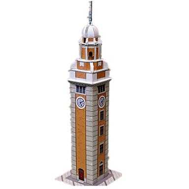 قطع تركيب3D نموذج الورق أشغال الورق مجموعات البناء برج بناء مشهور معمارية اصنع بنفسك كلاسيكي للجنسين هدية
