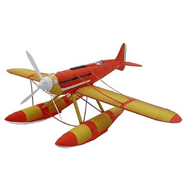 3D-puzzels Bouwplaat Papierkunst Modelbouwsets Vierkant Vliegtuig 3D Simulatie DHZ Hard Kaart Paper Klassiek Unisex Geschenk