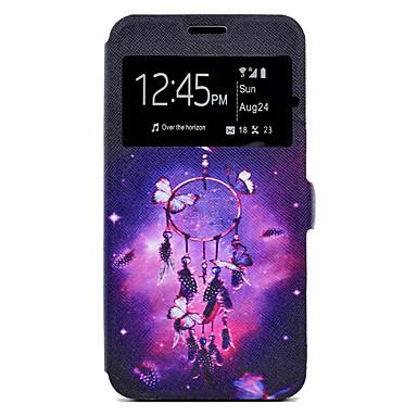 غطاء من أجل Samsung Galaxy A5(2017) A3(2017) حامل البطاقات مع حامل نموذج غطاء كامل للجسم ملاحق الأحلام قاسي جلد PU إلى A3 (2017) A5 (2017)
