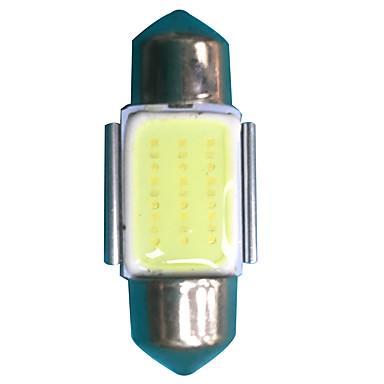 Festoon 31mm Mașină Becuri 3W W COB 300lm lm LED Lumini exterioare