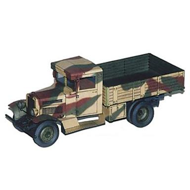 Jucării pentru mașini Puzzle 3D Modelul de hârtie Camion Jucarii Pătrat Camion Hârtie Rigidă pentru Felicitări Ne Specificat Bucăți