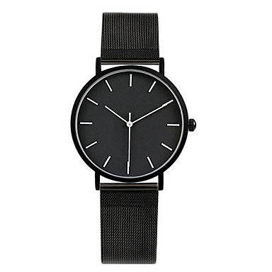 Dames Modieus horloge Kwarts Waterbestendig Legering Band Zwart