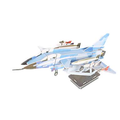 3D - Puzzle Modellbausätze Flugzeug Kämpfer Heimwerken Hochwertiges Papier Klassisch Unisex Geschenk