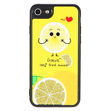 Hülle Für Apple iPhone 7 Plus iPhone 7 Muster Rückseite Frucht Glänzender Schein Hart PC für iPhone 7 Plus iPhone 7 iPhone 6s Plus iPhone