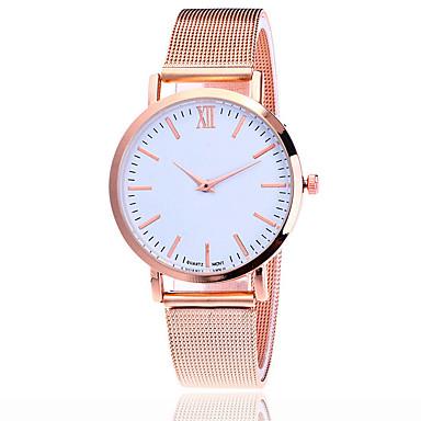 Damen Armbanduhr Kleideruhr Modeuhr Chinesisch Quartz Armbanduhren für den Alltag Legierung Band Charme Freizeit Elegant Schwarz Silber