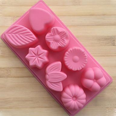 2-delig Cake Moulds Nieuwigheid voor Chocolade voor Cake Voor kookgerei voor BroodHoge kwaliteit Creative Kitchen Gadget DHZ Baking Tool