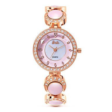 Dames Modieus horloge Kwarts Legering Band Zilver Goud Rose