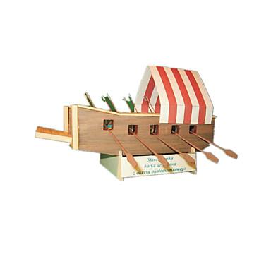 Puzzle 3D Modelul de hârtie Lucru Manual Din Hârtie Μοντέλα και κιτ δόμησης Navă Simulare Reparații Hârtie Rigidă pentru Felicitări Clasic