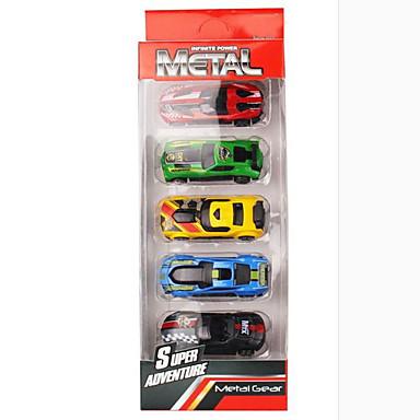 Speelgoedauto's Vehicle speelsets Speeltjes Motorfietsen Constructievoertuig Politieauto Speeltjes Rechthoekig Metaallegering Rauta Stuks