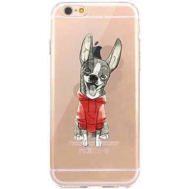 Hülle Für Apple iPhone 7 Plus iPhone 7 Muster Rückseite Hund Weich TPU für iPhone 7 Plus iPhone 7 iPhone 6s Plus iPhone 6s iPhone 6 Plus