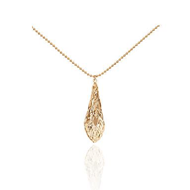 Pentru femei Leaf Shape Personalizat Γεωμετρικά Design Unic Franjuri Modă Hipoalergenic film Bijuterii Bijuterii Statement Coliere cu