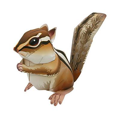 Puzzle 3D Modelul de hârtie Lucru Manual Din Hârtie Μοντέλα και κιτ δόμησης Veveriță Animale Simulare Reparații Hârtie Rigidă pentru