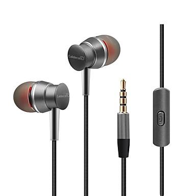 kdk303 في الاذن سلكي Headphones ديناميكي بلاستيك الهاتف المحمول سماعة مع التحكم في مستوى الصوت مع ميكريفون ستيريو سماعة