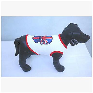 Hund Mäntel Pullover Hundekleidung Cosplay Lässig/Alltäglich Totenkopf Motiv Schwarz Rot Kostüm Für Haustiere