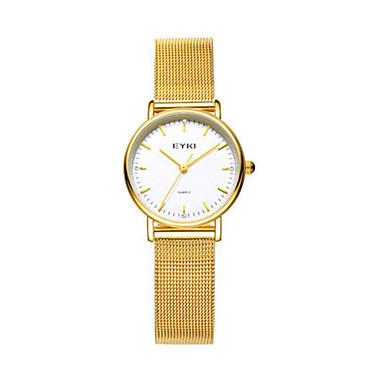 Dames Modieus horloge Kwarts Roestvrij staal Band Zilver Goud