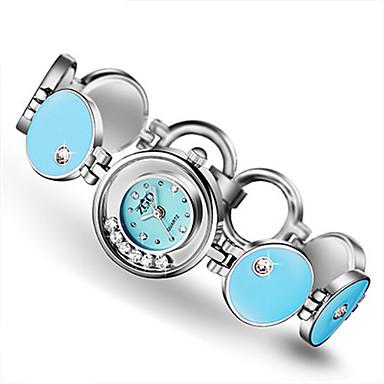 Dames Modieus horloge Kwarts Waterbestendig Legering Band Blauw Roze